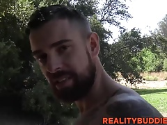 Cock hungry gay boi Teo has steamy fuck session with a hunk