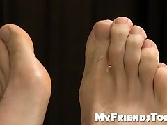 KC is fit tattooed jock that gets feet licked while he sleeps