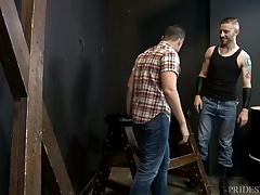 MenOver30 His First Time Being Bound