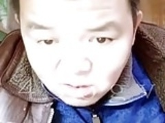 Dirty chinese daddy gets barebacked live on cam