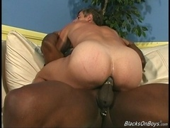 Gay daddy Cedric gets unforgettably fucked by two black hunks