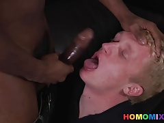 Kevin Tries Some Big Black Cock