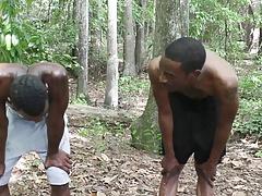 Da Underground gets in the woods
