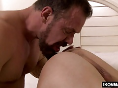 Horny older stud fucks his daughters BF