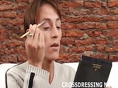 I am such a pretty crossdressing slut