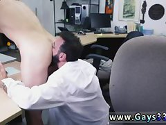 Nasty guy riding cock for money