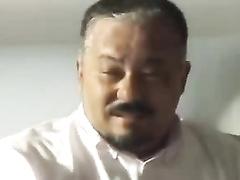 Japanese mature man hump