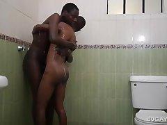 Black Africans Richard and Evans Bareback