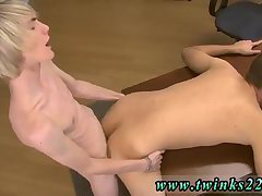 Blonde fucking guy after blowing