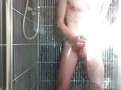 dot-dash in oil shower