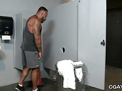 Gym Gloryhole - Alessio Romero, Brian Bonds