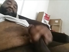 Me Cumming on my Furry Belly  11 12.16