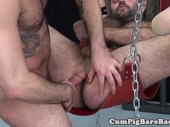 Chubby otter rimmed and barebacked