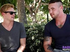Hung Ty Thomas ass bangs his boyfriend Steve Rogers