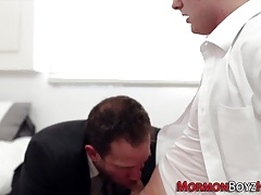 Gay mormon masturbates