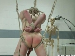 Nick kilted and moreover hung man-loving BDSM
