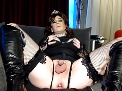 Chastity Show Off