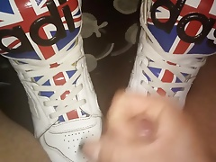 Men Feet (Adidas JS Sneakers)