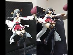 Haruna Kai Ni Figure Bukkake 1&2