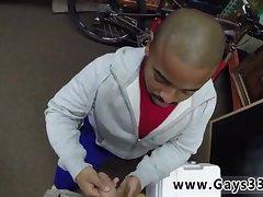 Black guy giving head for money