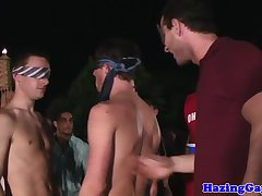 Real students humiliated with spanking