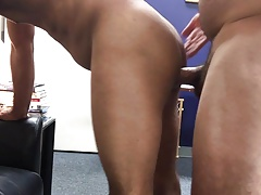 Bottom boy bb fuck at the office part 1