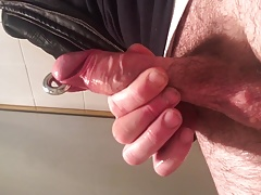 My small pierced cock.