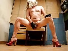 Naked trans milf