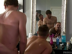 ExtraBigDicks Ass Eating Anal Threesome