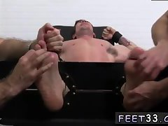 Trenton gets tickled in fetish threesome