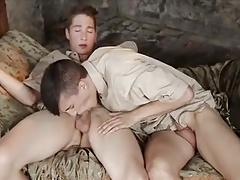 Young boyscouts fuck in the clubhouse