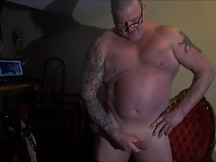pissing and jerking my cock