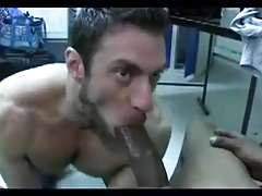 humongous black dick worshiped