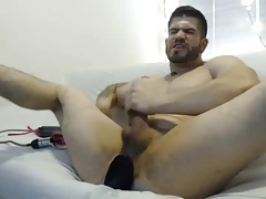 Ass masturbating