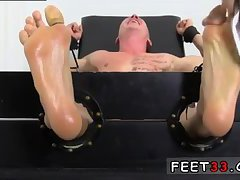 Cristian gets feet tickled