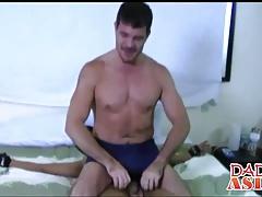 Asain twink Tenjo wants hard dick inside his tight asshole