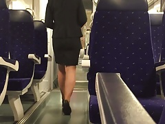 travelling in a business suit