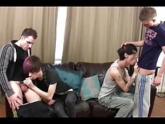 Gays orgy
