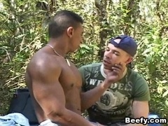 Some perversions of fags during the hiking