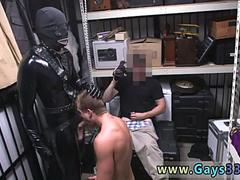 Free straight men chubby gay Dungeon tormentor with a gimp