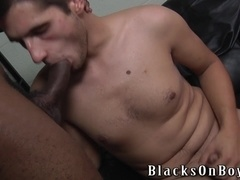 Handsome gay Dani Decor blows and gets his butt slammed