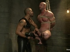 Leo Forte toys Mitch Vaughn's butt before smashing it with his BBC