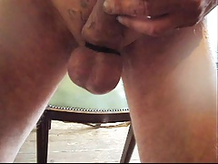 Cock and ball torture and hanging