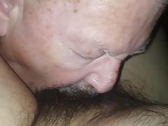 Daddy bear sucking mexican cock