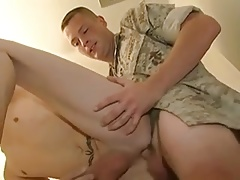 Fucking with Military Boy