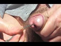 crossdresser shemale sounding urethral toy dildo lingerie