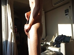 Asian cumming with 26mm sound inside prostate