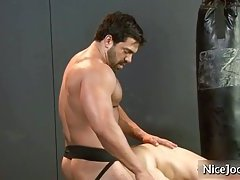 Hot jock gets ass fucked