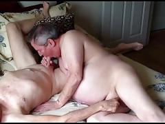 Naked gay old men