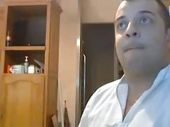 Sexy chub wanking